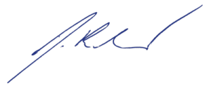 Signatur Joachim Reber